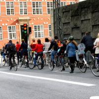 La migliore città per usare la bicicletta è Copenaghen. L'Italia è fuori