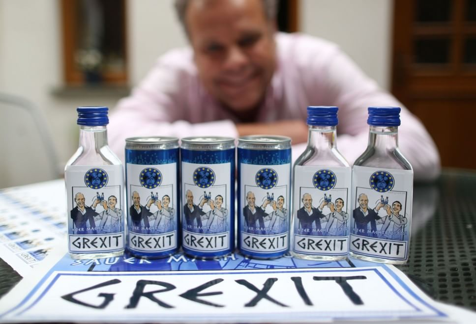 "Tedeschi pronti a brindare con la ""Grexit"""