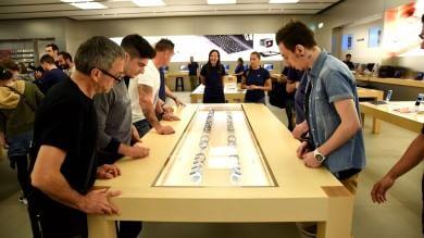 L'Apple Watch è arrivato in Italia