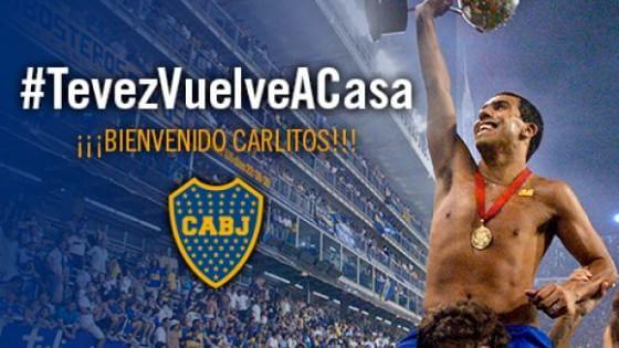 Juventus, Tevez torna al Boca Juniors: adesso è ufficiale