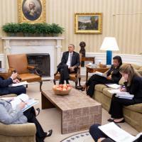 Via libera alla riforma sanitaria: le reazioni di Obama nello studio ovale