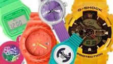 Grandi, flash: tornano gli orologi colorati anni 80
