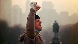 Quarant'anni e 72 gradini Philadelphia celebra Rocky