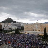 Grecia: migliaia in piazza ad Atene per il sì al referendum