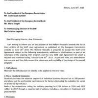 Ue-Grecia, ecco l'ultima controproposta firmata Tsipras