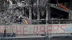 Candlestick Park, addio al mito la demolizione dello stadio