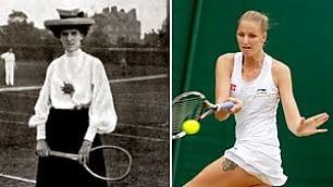 Dalla sottogonna ai tattoo un secolo di moda a Wimbledon