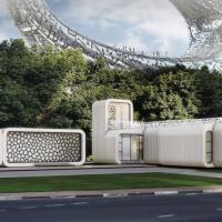 Dubai: il primo edificio stampato in 3D