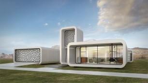 Dubai, il primo edificio realizzato con stampa in 3D