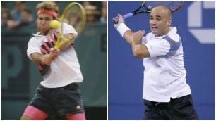 Leggende del tennis anni '80-'90 da Becker a Chang: il tempo passa