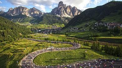 Luoghi, storia e campioni Le Dolomiti da scoprire in bici