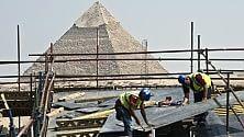 Il Museo di Giza    foto    che Tutankhamon sembra non gradire