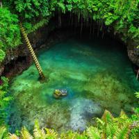 Samoa, la piscina paradiso creata da un'eruzione