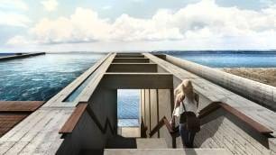 'Casa Brutale', l'abitazione  a picco sul mare Egeo