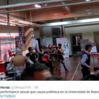 Performance porno all'università, scandalo in Argentina