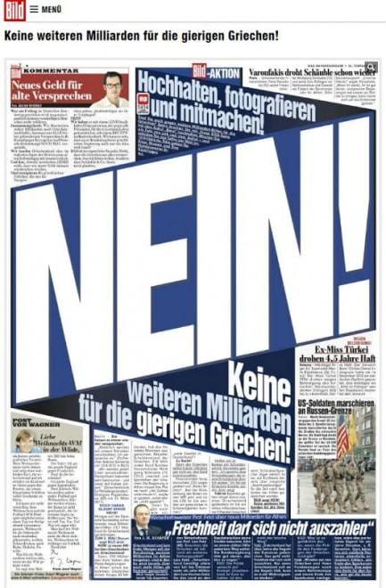 Grecia germania i colpi bassi di una campagna poco for Poco schlafsofa 88 euro