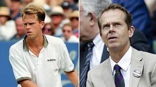Leggende del tennis anni '80-'90 da Agassi a Edberg: il tempo passa