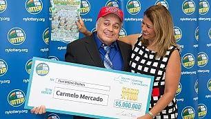 Pompiere eroe dell'11/9 vince  5 milioni di dollari alla lotteria