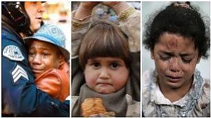 I bambini testimoni del mondo quando lo scatto diventa social