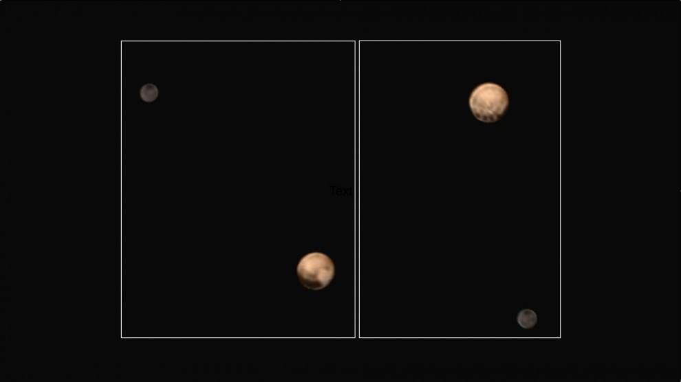 Plutone, l'altro pianeta rosso, ha due facce come Giano