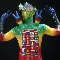 Austria, il festival del bodypainting