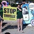 """""""Renzi Petroltour"""", contro  le trivelle nei mari italiani"""