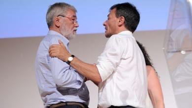 """Fassina riunisce gli ex Pd: """"Siamo qui  per fare un partito politico""""    video"""