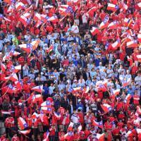 Coppa America, Santiago si colora per la finale Cile-Argentina