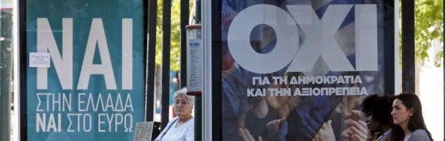 Grecia, urne aperte per il referendum  Dieci milioni al voto tra i veleni -   liveblog