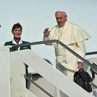 Papa Francesco parte per il Sud America