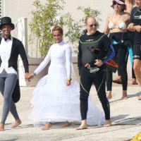 Matrimonio subacqueo: Alberto di Monaco testimone in muta