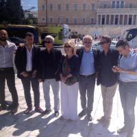 Referendum Grecia, delegazione SEL e Fassina ad Atene