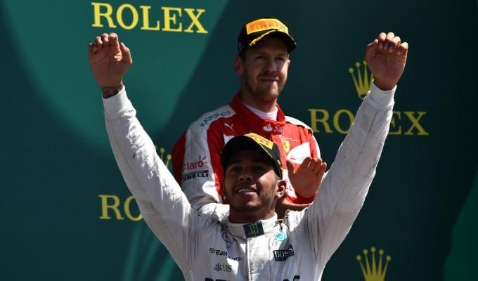 Hamilton vince, la Ferrari reagisce: Vettel 3°   foto