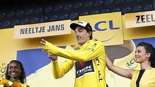 """Cancellara maglia gialla Nibali perde 1' 30""""   foto   Tappa al tedesco Greipel"""