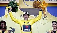 Cancellara in maglia gialla   ft   Nibali e Quintana in ritardo