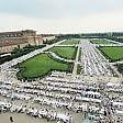 Ventimila a cena in bianco ridisegnano reggia Venaria