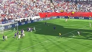 Lloyd segna tre gol  in 16 minuti, trionfo Usa