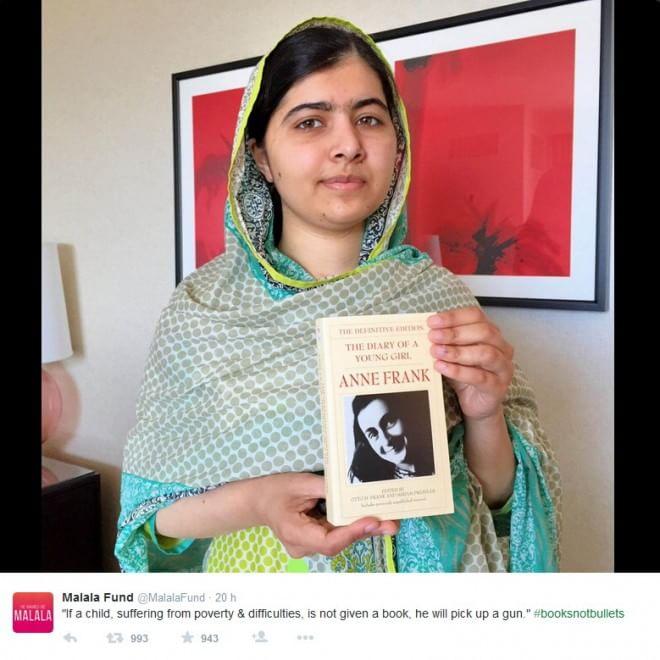 Libri non proiettili. La campagna di Malala per i suoi 18 anni