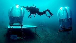 Le fragole vengono dal Mar Ligure Meravigliose serre sott'acqua