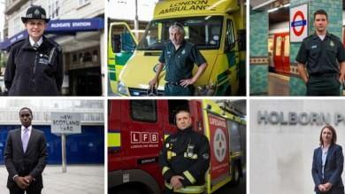 Londra, dieci anni dopo l'attentato   Foto  Ecco gli ''eroi'' del 7 luglio    video
