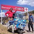 Tre torinesi in Ape Piaggio  attraverso il Sudamerica