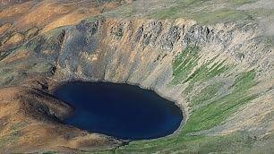 Foto . Un tuffo nel cratere