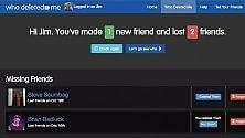 Chi ci toglie l'amicizia su Facebook? Adesso c'è un'app per scoprirlo