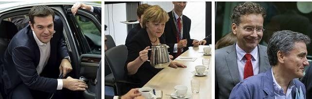 """""""Grecia, accordo in cinque giorni o fallimento""""   Domenica vertice. Juncker: """"Pronti a Grexit""""   Borse,  altra giornata nera: Milano perde il 3%"""
