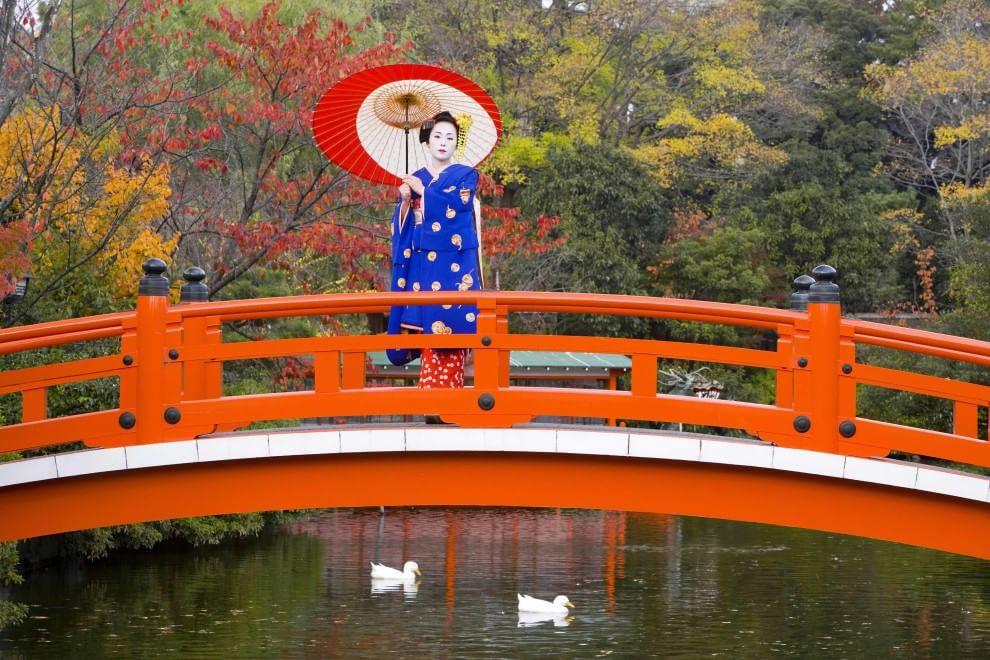 Kyoto citt pi bella del mondo parola di turista - Foto della bandiera del giappone ...