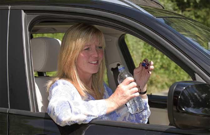 Disidratati alla guida, come guidare da ubriachi