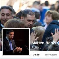 Facebook, non raggiungibile per alcuni minuti profilo di Matteo Renzi