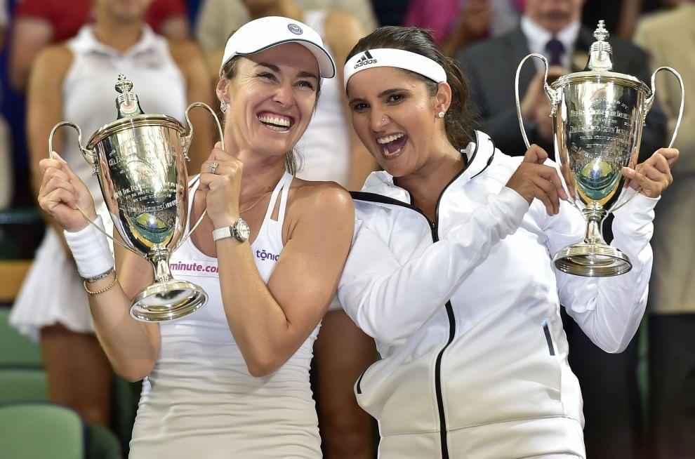 Wimbledon, Martina Hingis torna a vincere a Wimbledon (in doppio) dopo 17 anni