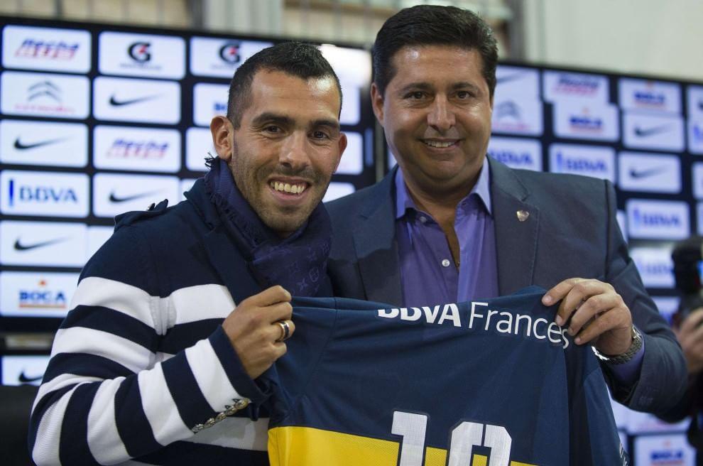 "Tevez alla Bombonera: ""Del Boca mi mancava tutto"""