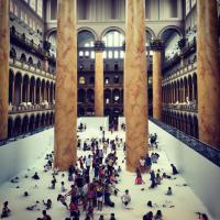 Washington, tutti a mollo nelle palline: il museo sembra un parco giochi